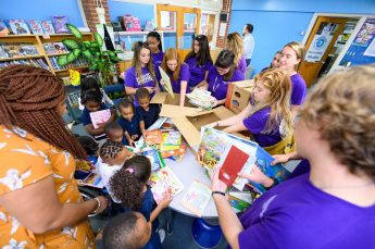 Students Deliver Books to Local Schools
