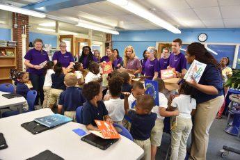 HPU Students Donate Books to Area Schools