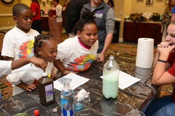 Boys and Girls Club Enjoys HPU Science Fair