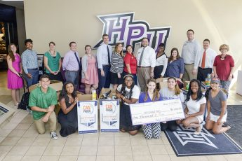 Students Give to United Way's 'CANpaign'