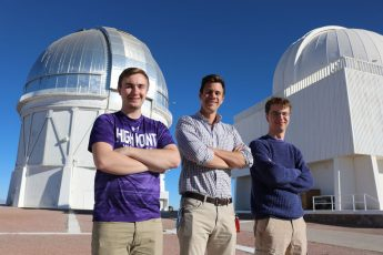 HPU Students and Professor Discover Eight New Pulsating Stars Using New Method