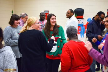 HPU Hosts Christmas Special Populations Dance for Community Members