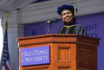 Condoleezza Rice Challenges Class of 2016 to Become Optimists for the World