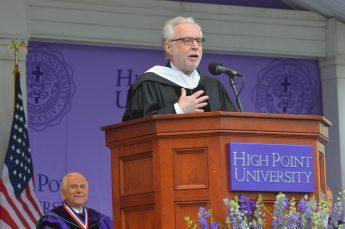 CNN's Wolf Blitzer Inspires HPU Graduates