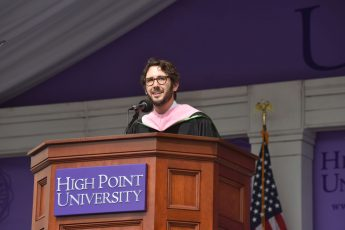 Josh Groban Tells HPU Grads to Embrace Fear and Trust Their Instincts