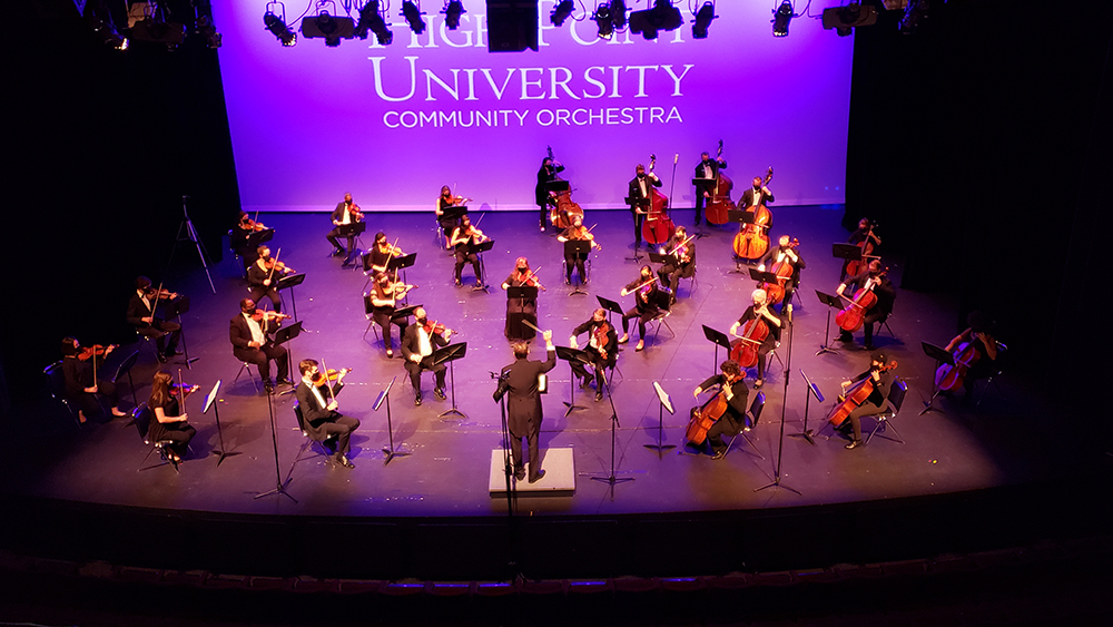 "High Point University Community Orchestra will perform its final in-person concert of the 2020-21 season, ""Going Places,"" at High Point Theatre, 220 E. Commerce Avenue, on Sunday, April 25 at 7:30 p.m."
