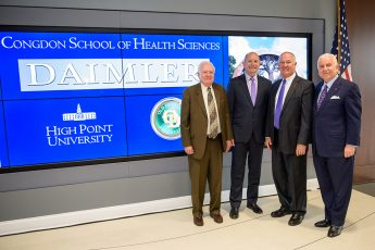 Daimler Trucks North America Donates To HPU's Congdon School of Health Sciences