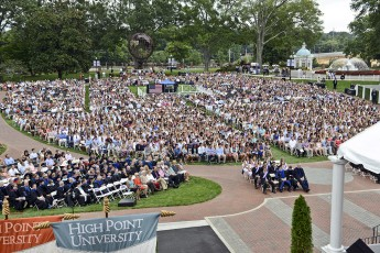 New Students Participate in 90th Convocation and Welcome Week Traditions