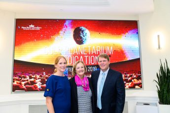 HPU Honors the Culp Family During Planetarium Ceremony