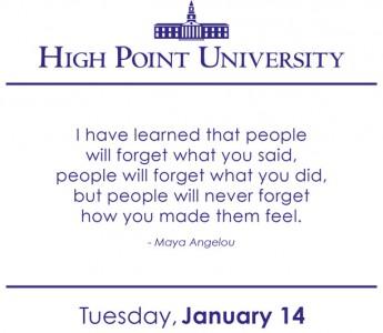 [CALENDAR] January 14, 2014
