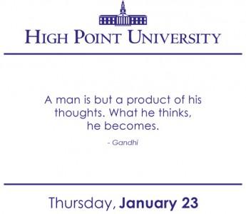 [CALENDAR] January 23, 2014