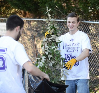 "Students and Faculty Serve the Community Through ""A Day On, Not Off"""