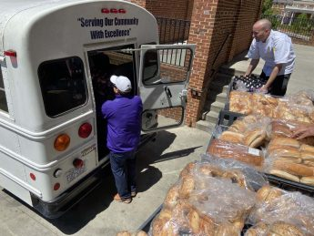 HPU Dining Donates Food to the High Point Housing Authority