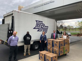 HPU Family Donates Personal Protective Equipment to Emergency Workers