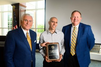 HPU Recognizes Math Professor with Slane Distinguished Teaching-Service Award