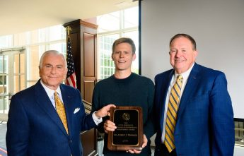 HPU Chemistry Professor Receives Ridenhour Scholarly and Professional Achievement Award