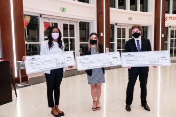 HPU Students Awarded Funds at Annual Elevator Pitch Competition