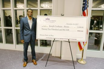 HPU Students Awarded Start-up Funds at Annual Elevator Pitch Competition