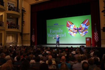 HPU Families Provide Boost to City, Support Hurricane Relief During Family Weekend