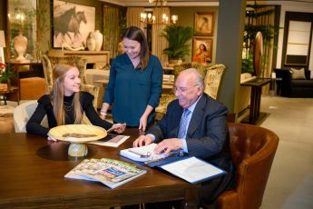 Students Work with Industry Leaders at Furniture Market