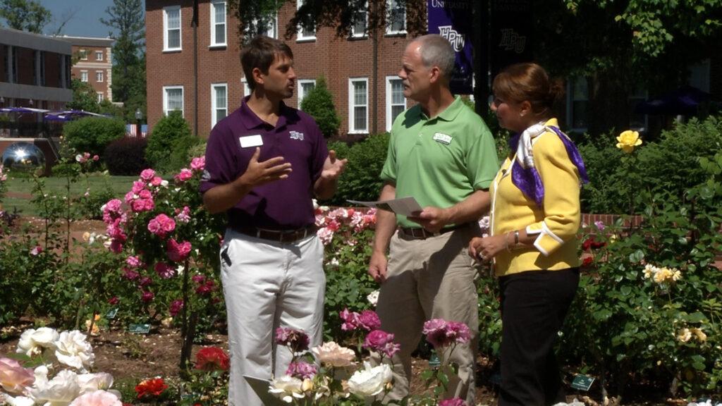 HPU Gardens on UNC-TV