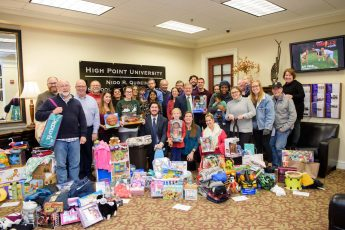 School of Communication Donates Christmas Gifts to Local Families