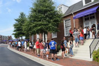 HPU Welcomed Families for Governor's School West Parents' Day