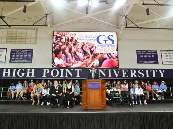 Governor's School West Wraps Up at HPU