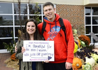 Students Give Thanks with 'The Gratitude Project'