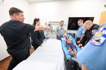 HPU Physician Assistant Studies Faculty Train Guilford County EMS