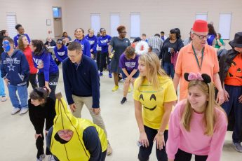 HPU Students Host Special Pops Halloween Dance for Community Members