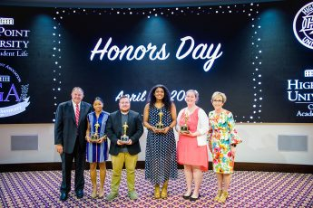 Students Honored for Service and Academic Commitment