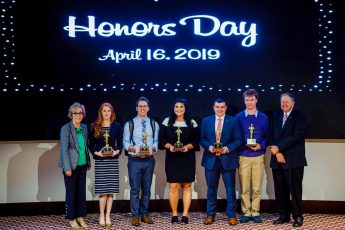 Outstanding HPU Students Recognized at Honors Day