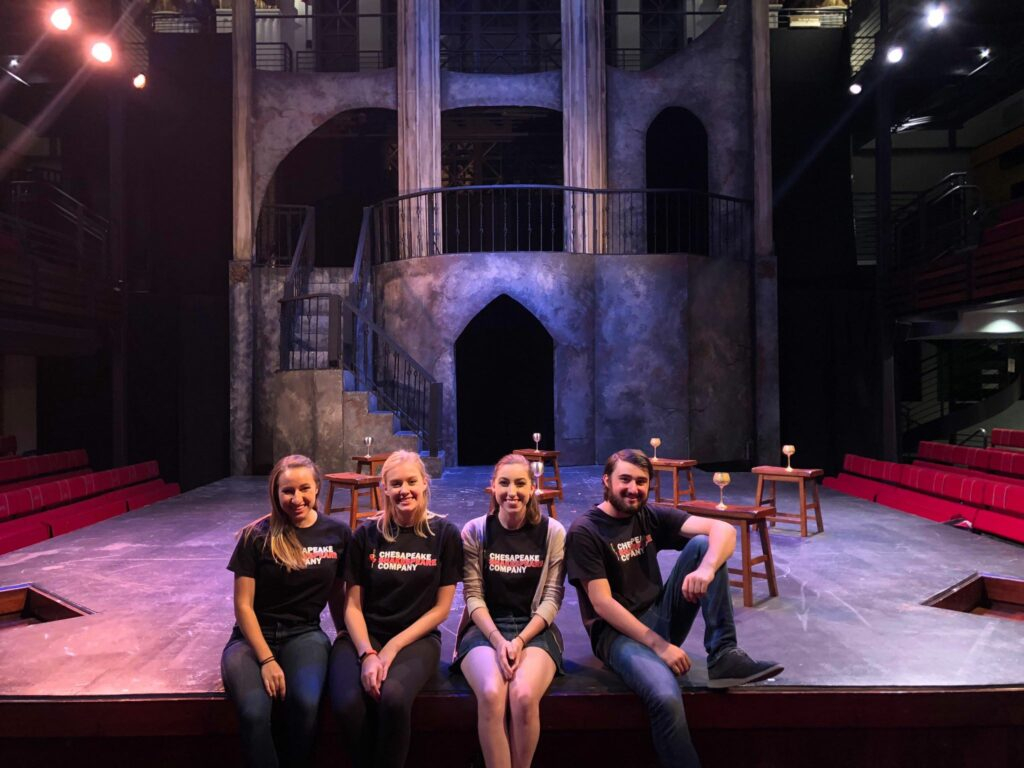 Chesapeake Theatre Company Interns
