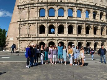 HPU Spends 'Maymester' Learning About Italian Culture