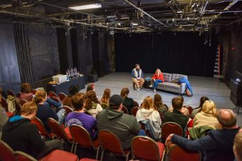 Award-Winning Playwright and Actor Visits HPU's Department of Theatre and Dance