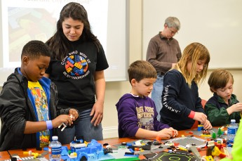 Community Lego Day Brings STEM Concepts to Life for Local Children