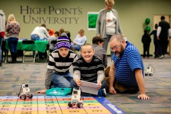 HPU Hosted LEGO Showcase for the Community