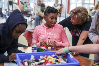 HPU Hosts 600 Community Members for Lego Showcase