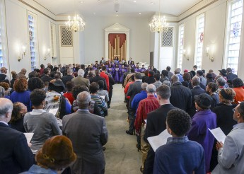 HPU's MLK Service Focuses on the 'Good Samaritan Instinct'