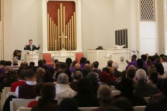 Speaker Encourages Audience to 'Repair the Road to Jericho' at HPU's Annual MLK Worship Service