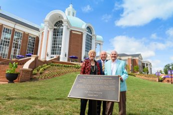 HPU Dedicates the Mahler Promenade to the Family