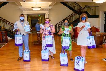 HPU Donates 2,000 Face Masks to Local Organizations