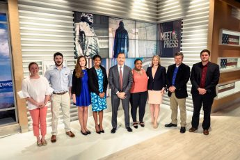 HPU Students Meet Political Professionals During 'Maymester' in Washington, D.C.