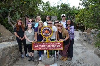 HPU Students Study the Biodiversity of Ecuador During Global Experience