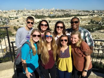 HPU Religion Students Make Cultural Connections in Israel during 'Maymester' Trip