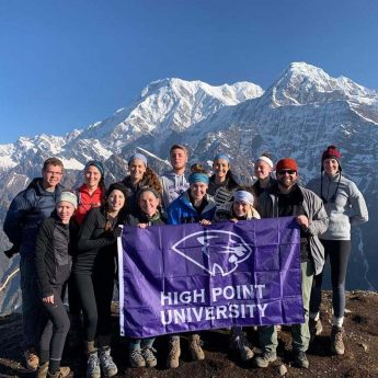 Exercise Science Students Research Altitude Exposure in Nepal During 'Maymester'