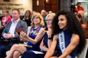 HPU Hosts Miss USA Cheslie Kryst