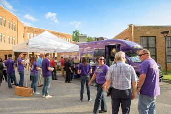 HPU Unveils New Mobile Lab to the High Point Community