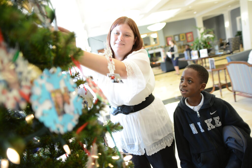 High Point University/ Montlieu tree decorating